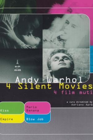 4 Silent Movies | The Film Club kiss blow job Empire - Mario Banana Andy Warhol