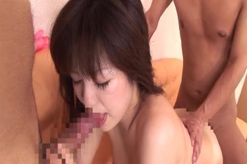 Asian Brunette Fuck Threesome 4