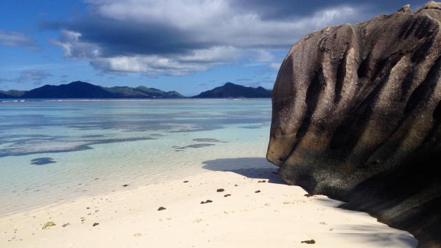 UNIQUE ROCKS OF SEYCHELLES ISLANDS