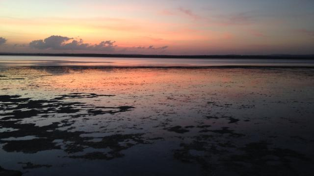SUNSET ON THE SEA - KENYA