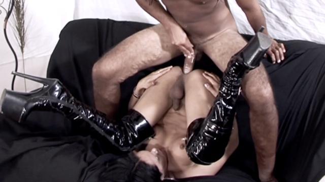 Black Kinky Boots