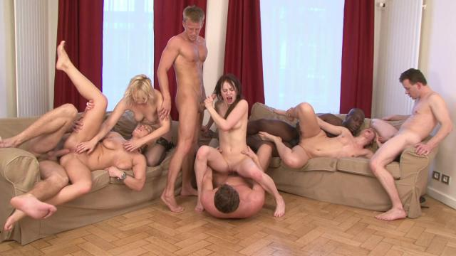 Tired Housewives Starts Great Orgy Party Eps 2